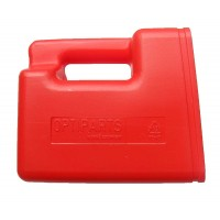 Optiparts Large Hand Bailer - Red