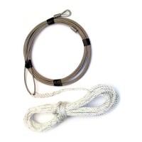 Wayfarer Genoa Halyard Wire - 6380mm
