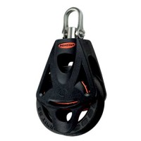 Ronstan Series 40 Orbit Block With Swivel Shackle Head And Becket Option