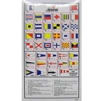 RWO International Code Flag Sticker Key