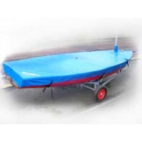 Solo Boat Cover Flat (Mast Up) PVC