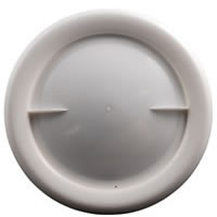 Hatch Cover 223mm White