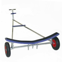Albacore Launching Trolley - Single GRP Cradle