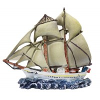 Jolly Fleet White Hull 2 Mast