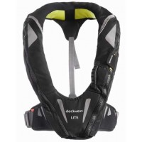 Spinlock Deckvest Lite 170N Lifejacket (Gun Metal/Black)