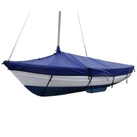 Falmouth Bass Boat 16 Cover Overboom (Boom Up) PVC