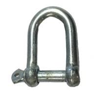 Galvanised Dee Shackle - 6mm (1/4inch)
