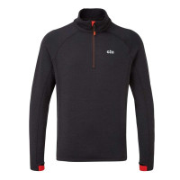 Gill OS Thermal Zip Neck Graphite