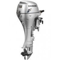 Honda 15HP 4-Stroke Long Shaft Recoil Start Tiller Handle Outboard