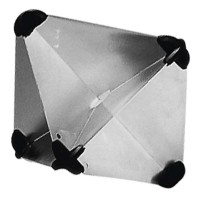 Foldable Aluminium Radar Reflector (215x215mm)