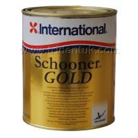 International Schooner Gold Varnish 2.5Ltr