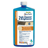 Star brite Sea Safe Teak Cleaner / Brightener 1000ml Step 1