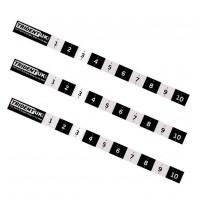 Topper Measurement Stickers