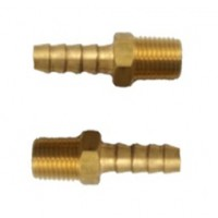 """1/2"""" Threaded to 1/4"""" Hose Adapters for Mallory Fuel Filters"""