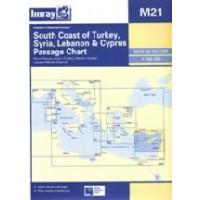 M21 South Coast of Turkey, Syria, Lebanon & Cyprus