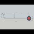 Laser Trolley Gunwhale Hung