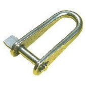 6mm D Shackle Forged Key Pin - Stainless Steel