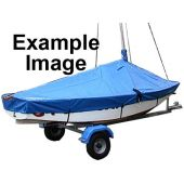 Laser 13 Boat Cover Overboom (Boom Up) PVC