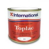 International Toplac Premium High Gloss Paint Mediterranean White 2.5 Litre