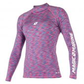 Magic Marine Women's Cube Rashvest Long Sleeve