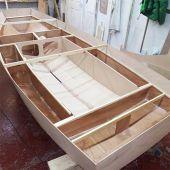 Mirror Sailing Dinghy Wooden Hull Kit