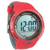 Ronstan Clearstart Sailing Watch - Red And Grey