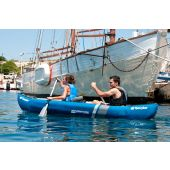 Sevylor Adventure 2 Man Inflatable Canoe with Paddles and Pump