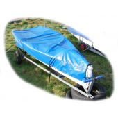 Topaz Uno Boat Cover Top (Mast Down) Breathable Hydroguard