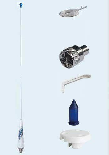 Glomex Fibreglass 0.9m Sailboat VHF Antenna