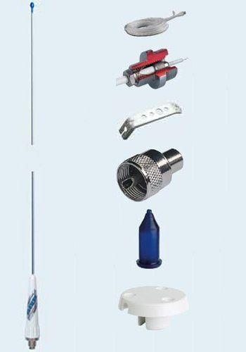Glomex Stainless Steel 1.05m Mast Head Antenna