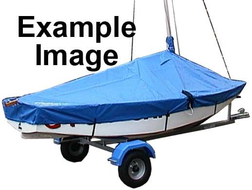 420 Boat Cover Overboom (Boom Up) PVC
