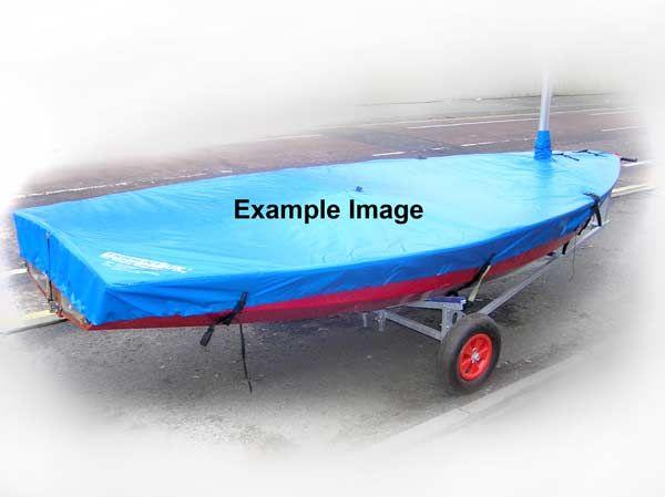 Kestrel Boat Cover Flat (Mast Up) PVC
