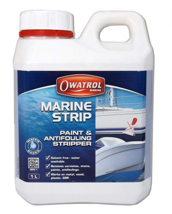 Owatrol Dilunett Paint Stripper And Antifouling Remover 1Ltr