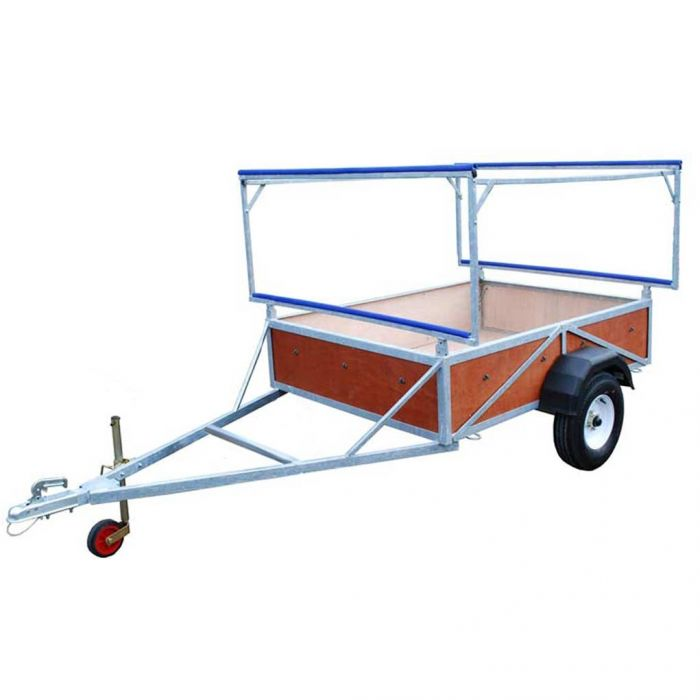 Double Triple Stacking Box Trailer