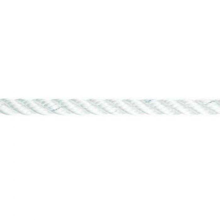 Liros 3 Strand Nylon Rope 20mm White