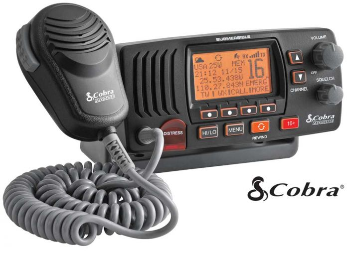 Cobra F57B Fixed Mount VHF Marine Radio