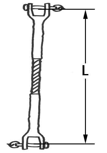 Fork Terminal/Fork Terminal Rigging Wire