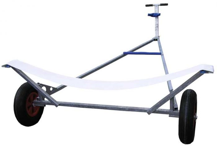 Webbing Support Launching Trolley - Upto 13ft 6