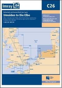 Imray Chart IJmuiden to Die Elbe C26