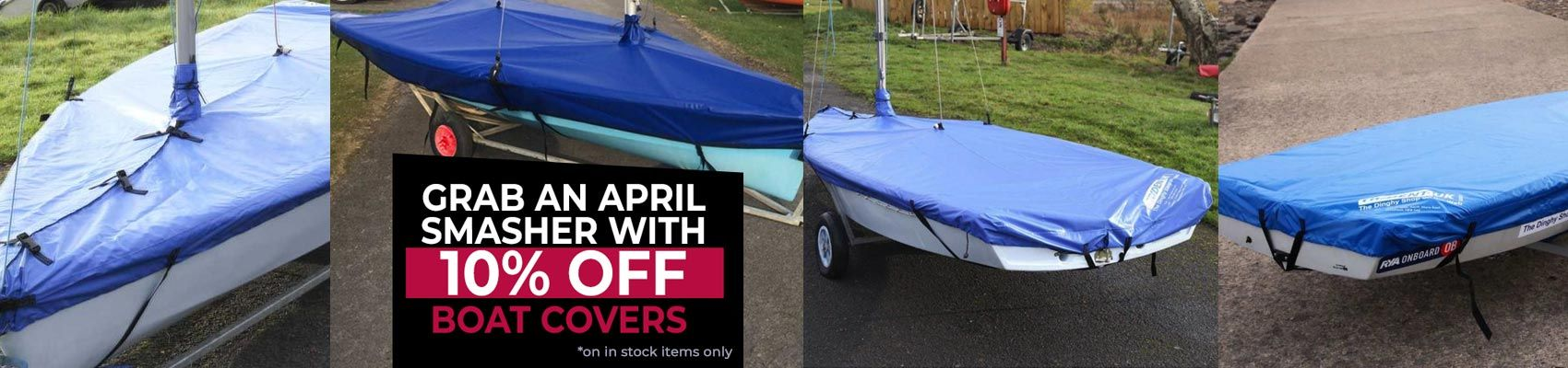 April Boat cover 10 Off Offer