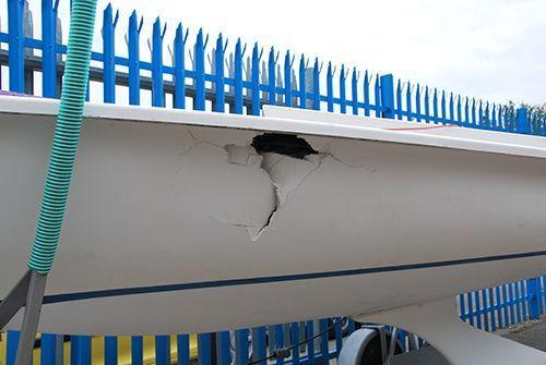 boat repair before